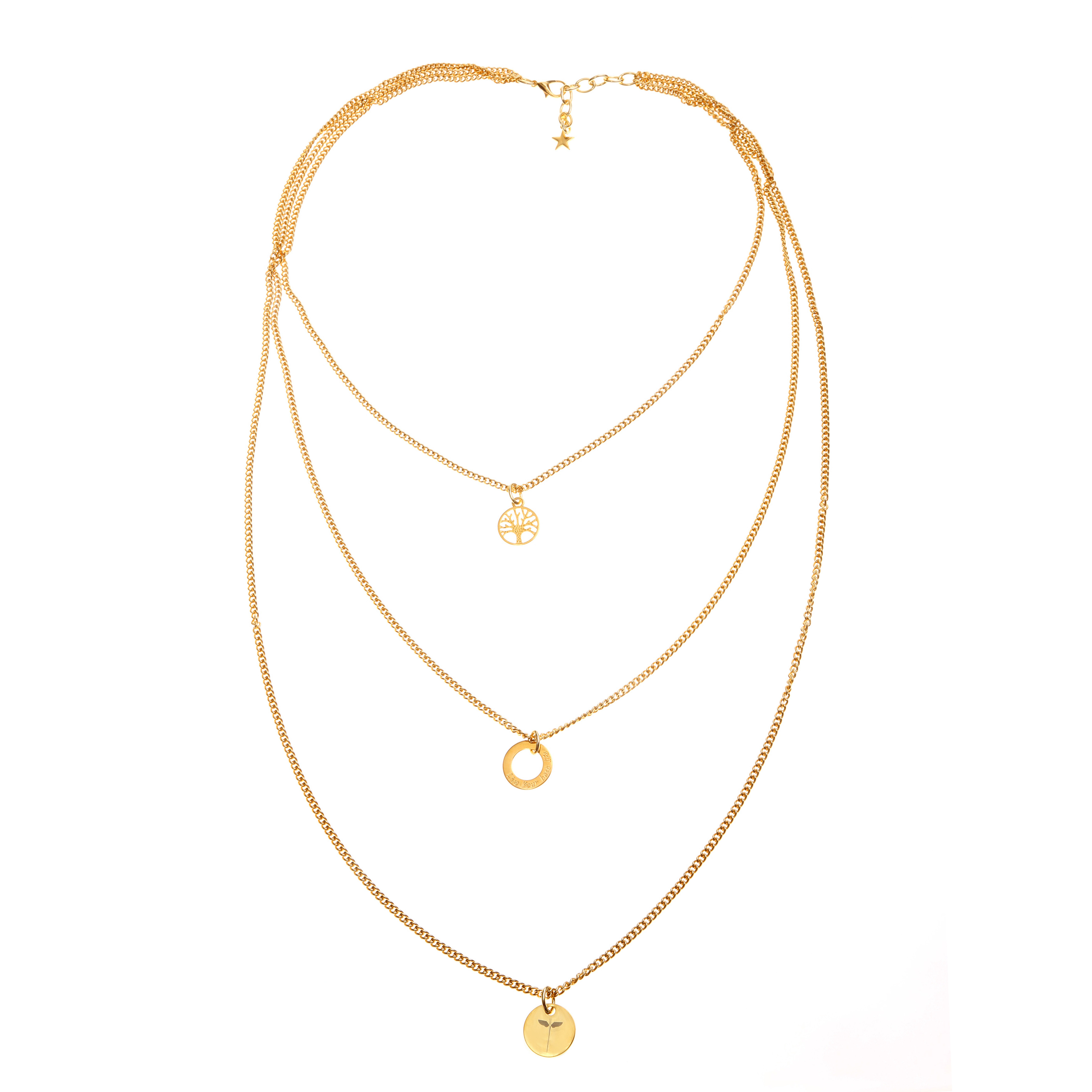 LIVE YOUR BEST LIFE NECKLACE - Freya Lupo Jewelry